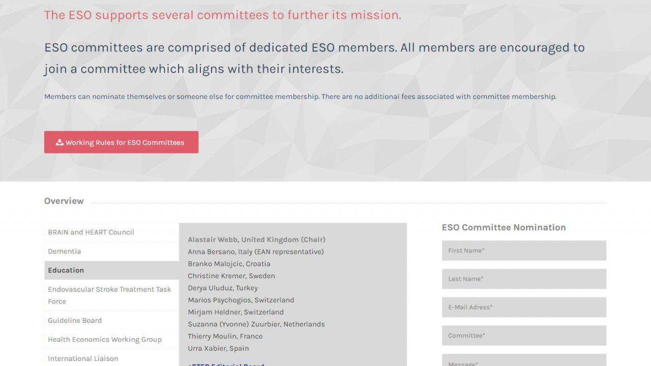 Dernek Başkanımız Prof. Dr. Derya Uludüz, Avrupa İnme Organizasyonu Eğitim Komitesine seçildi